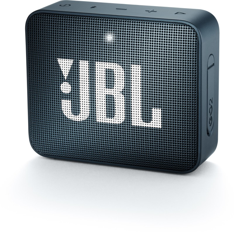JBL GO2 Bluetooth Speaker(Navy Blue, Mono Channel)