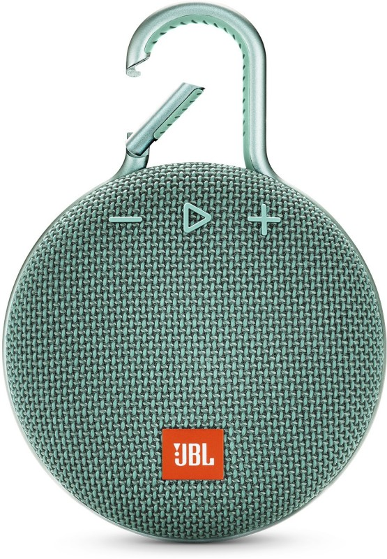 JBL CLIP 3 Portable Bluetooth Speaker(Teal, Stereo Channel)