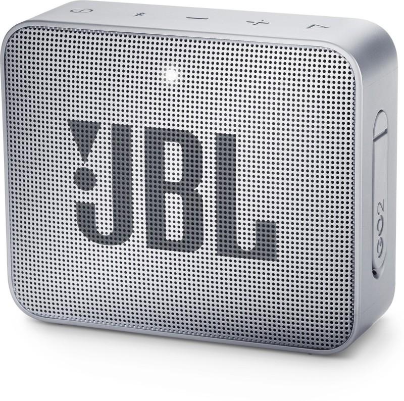 JBL GO2 Bluetooth Speaker(Grey, Mono Channel)