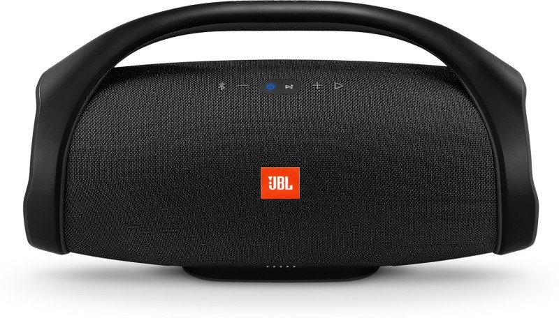 JBL Boombox Bluetooth Party Speaker(Black, Stereo Channel)