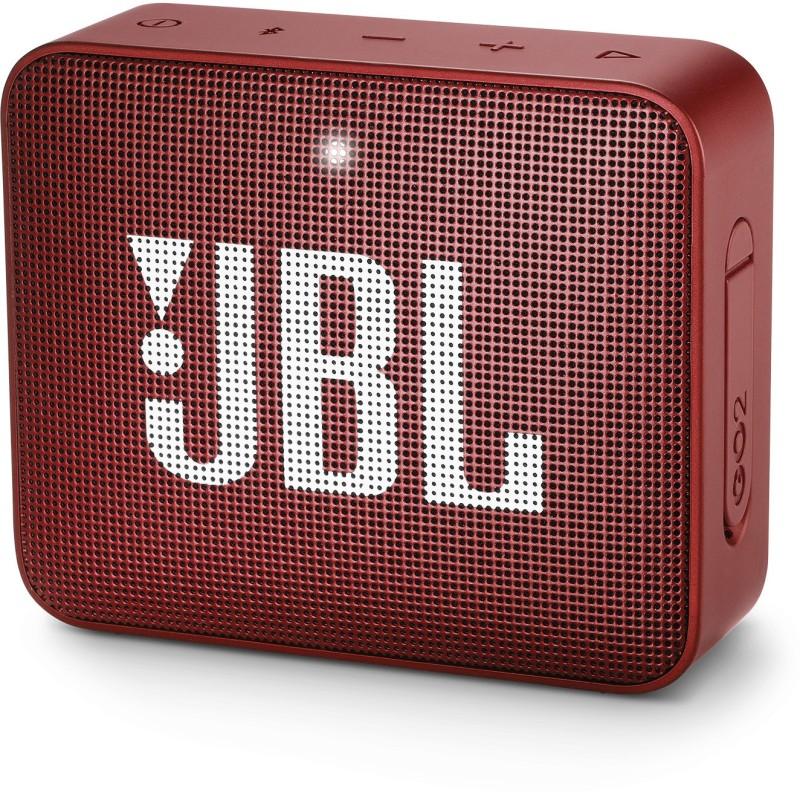 JBL GO2 Bluetooth Speaker(Red, Mono Channel)