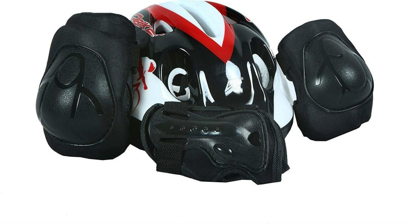 Zahuu Cycling Protection Equipment Set with Helmet Cycling Kit