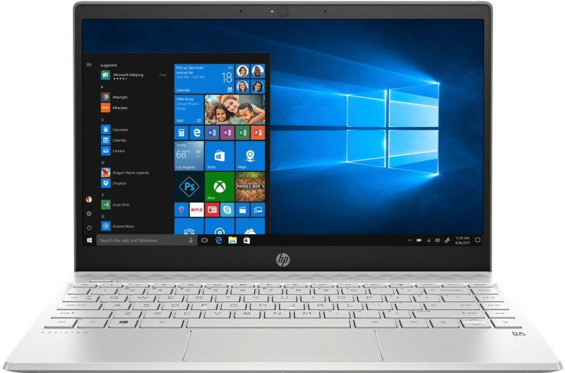 HP Pavilion 13 Core i5 8th Gen - (8 GB/128 GB SSD/Windows 10 Home) 13-an0045tu Thin and Light Laptop(13.3 inch, Mineral Silver, 1.3 kg)