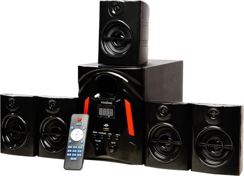 KRISONS Jazz Bluetooth Home Theatre(Black, 5.1 Channel)
