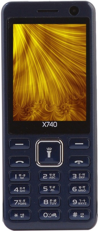 Micromax X740(Blue)