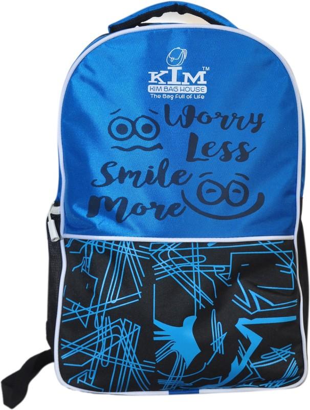 Kim bag house Smart Laptop Bag II Backpack II Multiuse bag 22 L Backpack(Blue, Black)