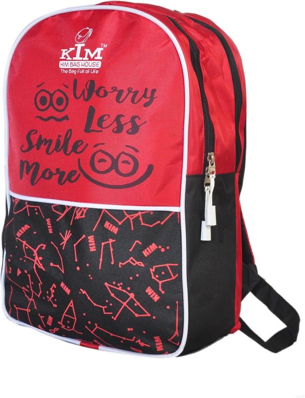 Kim bag house Smart Laptop Bag II Backpack II Multiuse bag 22 L Backpack(Red, Black)