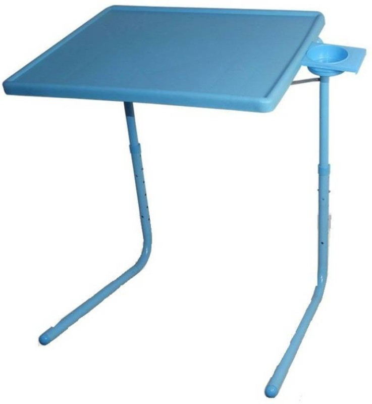 Best Deal Product Plastic Portable Laptop Table(Finish Color - Blue)