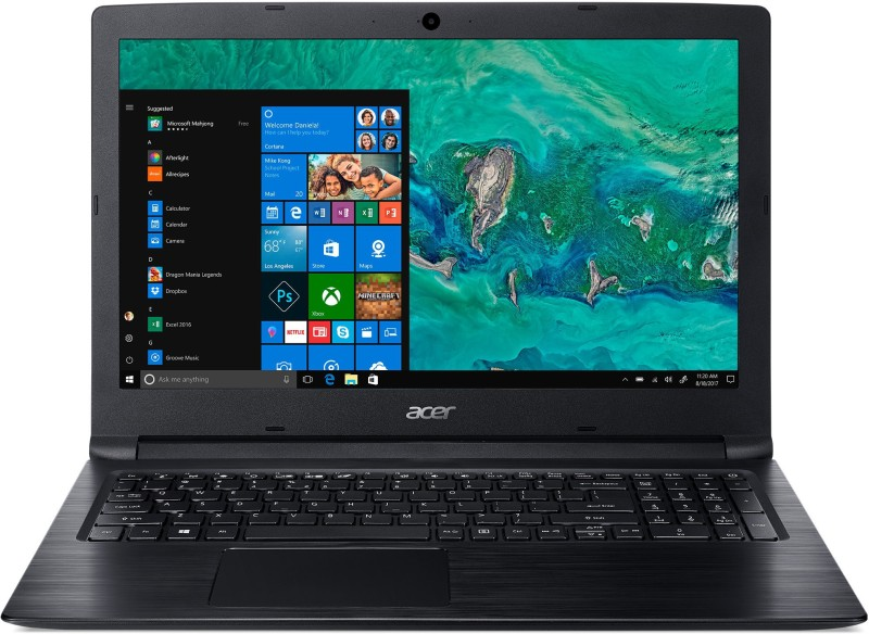 Acer Aspire 3 Core i3 8th Gen - (4 GB/1 TB HDD/Windows 10 Home) A315-53-317G Laptop(15.6 inch, Obsidian Black, 2.1 kg)