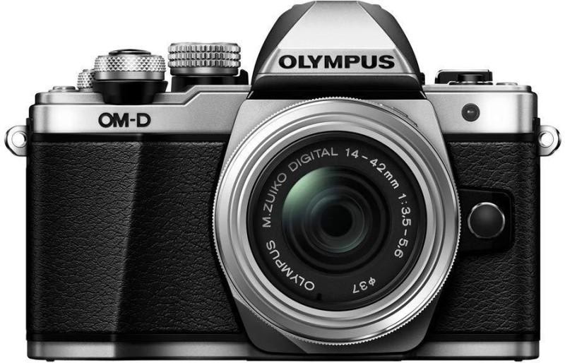 Olympus OM-D E-M10 Mark II Mirrorless Camera with 14-42mm EZ Lens(Silver)