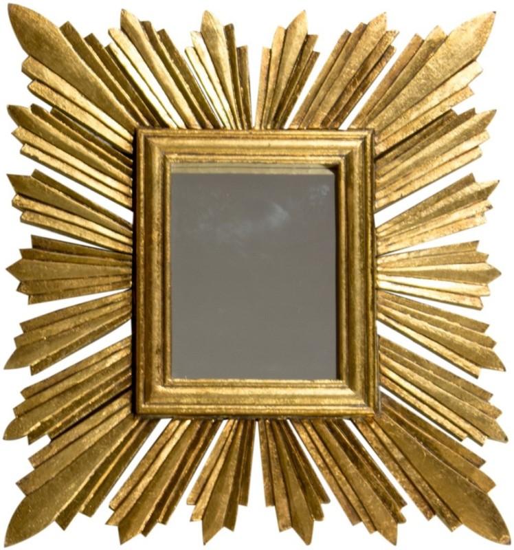 Details Décor India Snbrst Foil Decorative Mirror(Decorative)