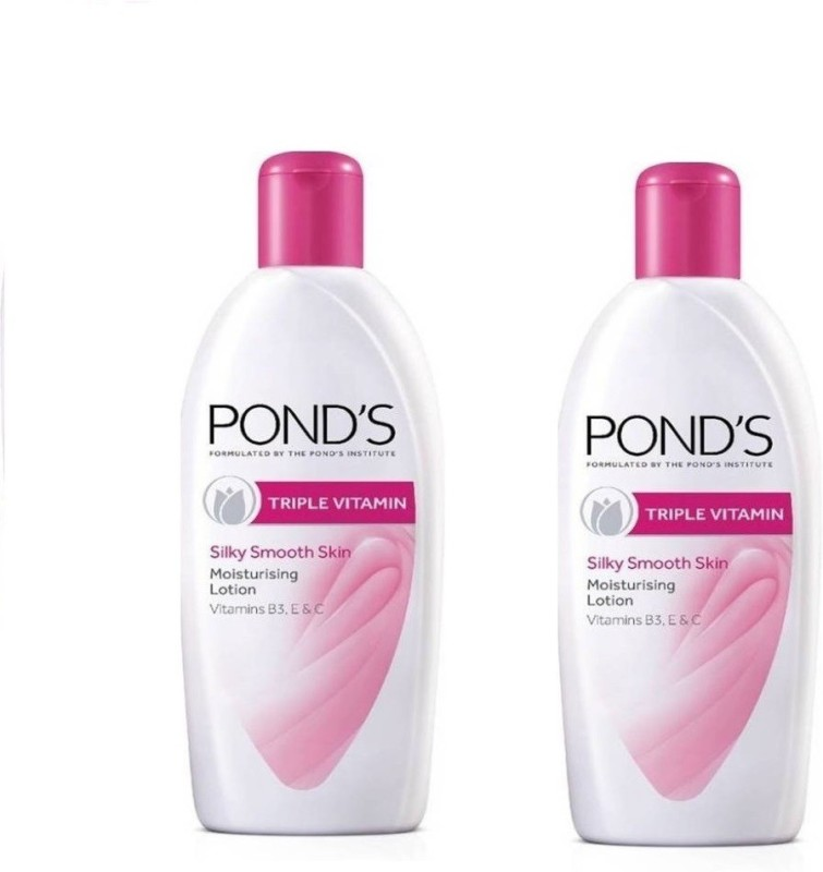 Ponds body lotion triple vitamin 300ml x 2(600 ml)