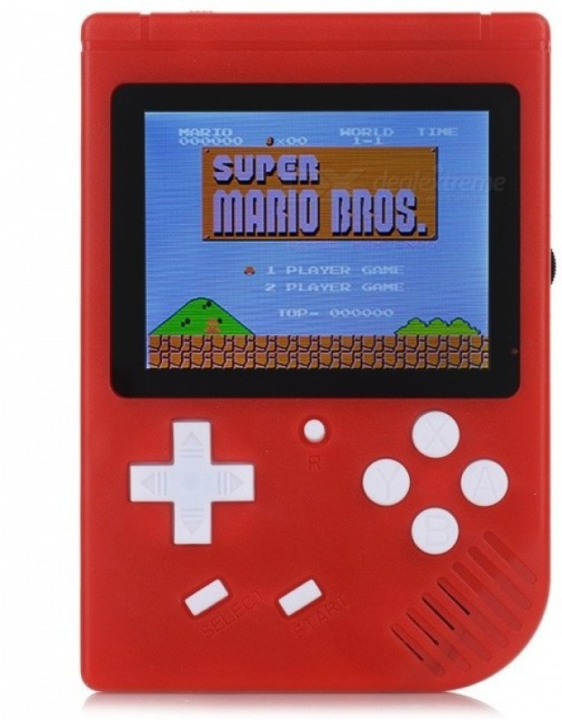 BLENDIA HANDHELD GAME WITH 3.0 COLOR DISPLAY SCREEN 400 IN 1 GAMES PORTABLE GAME PLAYER Handheld Gaming Console(RED)