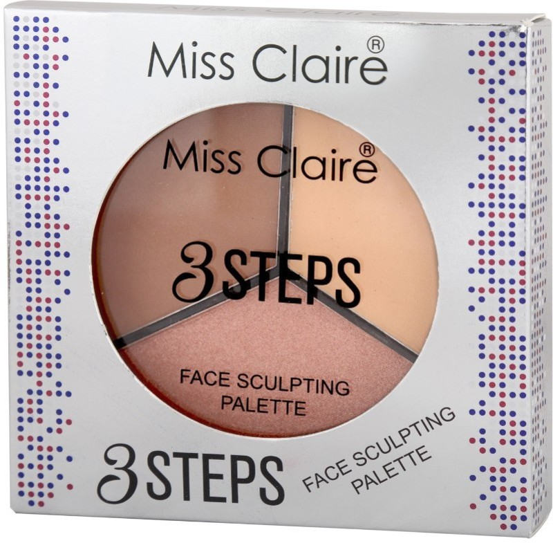 Miss Claire 3 Steps Face Sculpting Palette 1