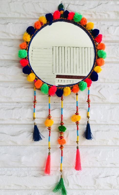 handmade pledge HP57 Decorative Mirror(Round)