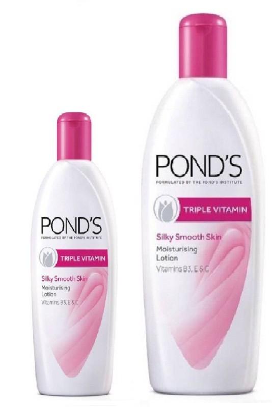 Ponds Triple Vitamin body lotion 300ML + 100ML(400 ml)