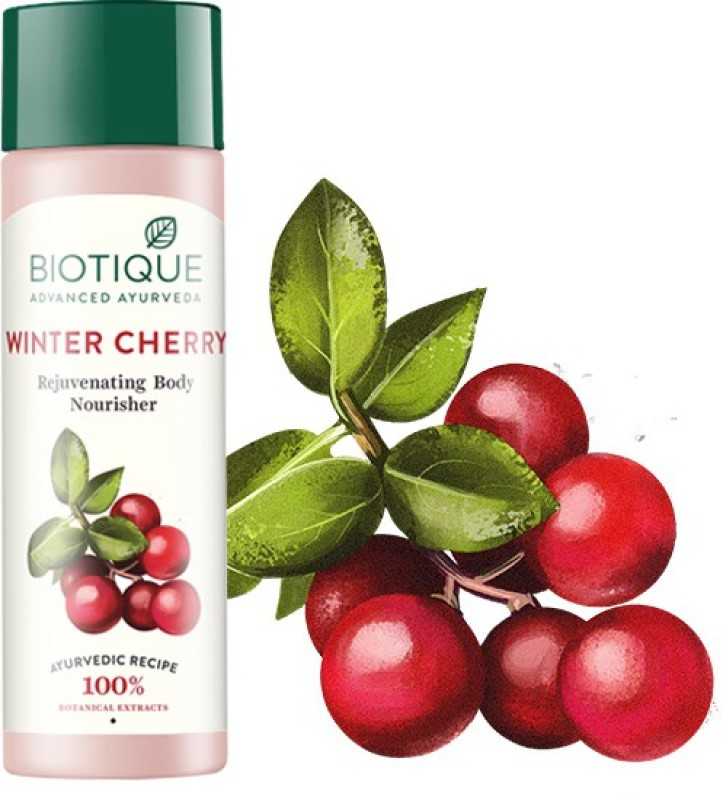 Biotique Bio Winter Cherry Rejuvenating Body Nourisher(190 ml)