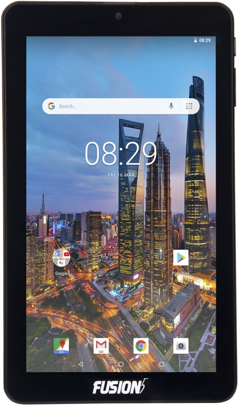 Fusion5 F704B 16 GB 7 inch with Wi-Fi Only Tablet (Black)