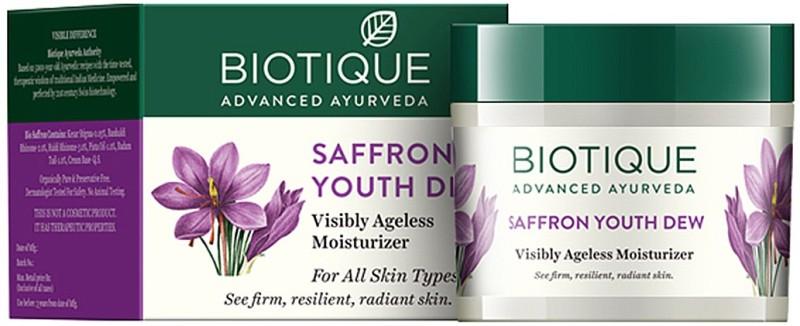 Biotique Saffron Youth Dew Ageless Moisturizer(50 g)