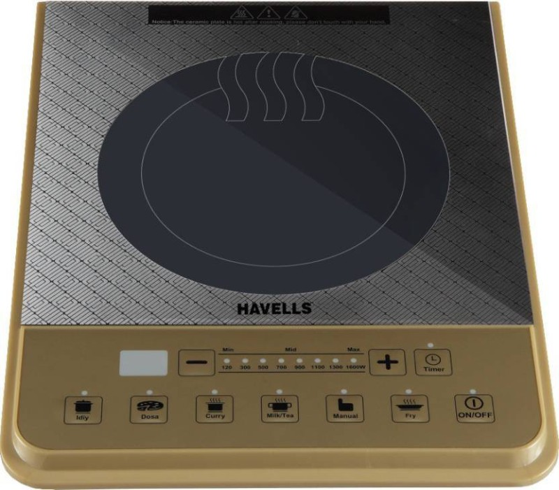 Havells Insta Cook PT Induction Cooktop(Multicolor, Push Button)