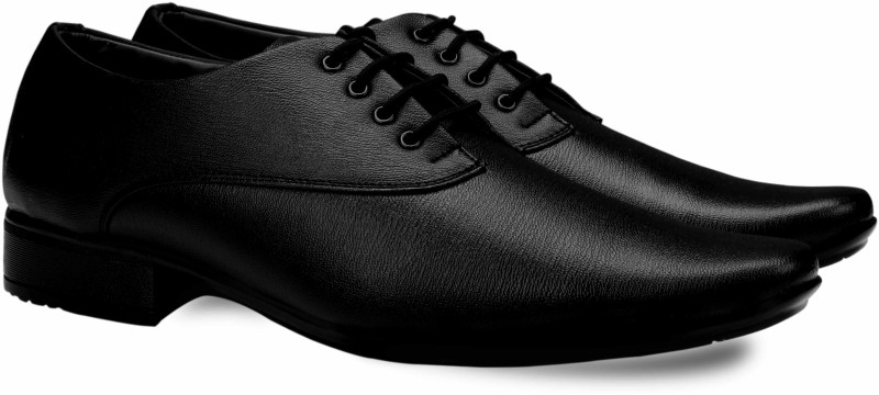 Smoky 571 Classic Formal Oxford For Men(Black)