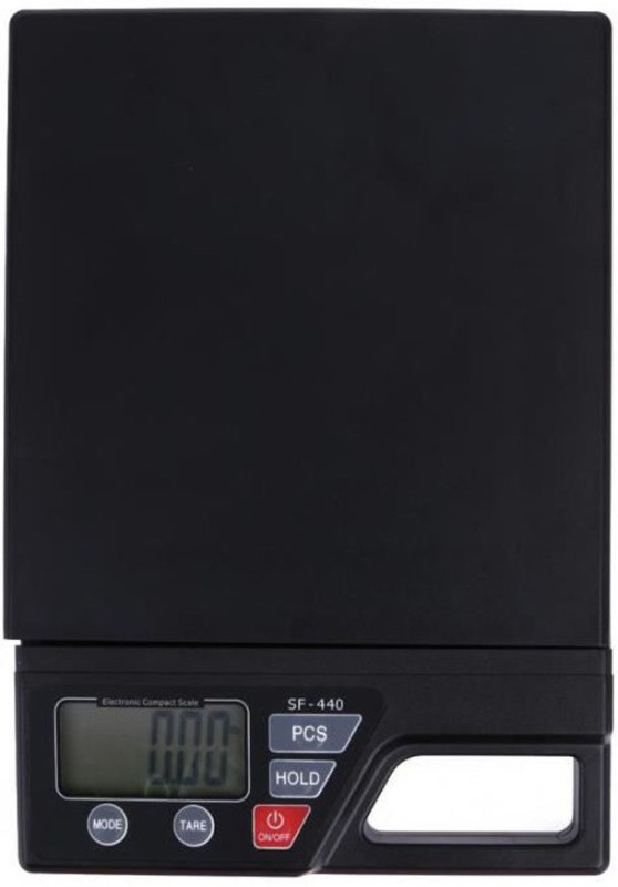 INDOSON sf-440_indoson_weighing scale Weighing Scale(Black, Multicolor)