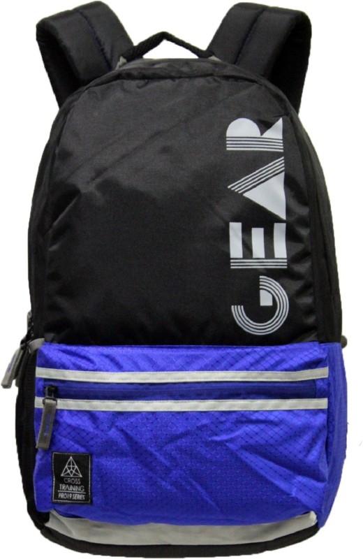 Gear BOXY ECO 6 19.0 L Backpack(Black, Grey)