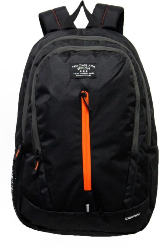 Gear ECO ATHLETE 21.0 L Backpack(Black, Orange)