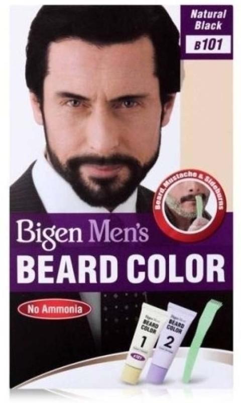 Bigen Men's Beard Color B 101 ( Natural Black ) Hair Color(natural black)