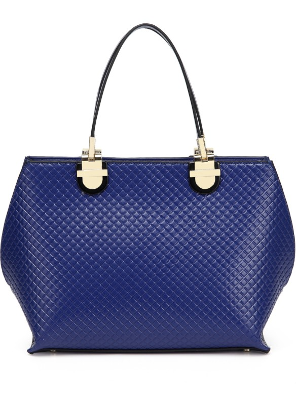 Merlot Women Blue Hand-held Bag