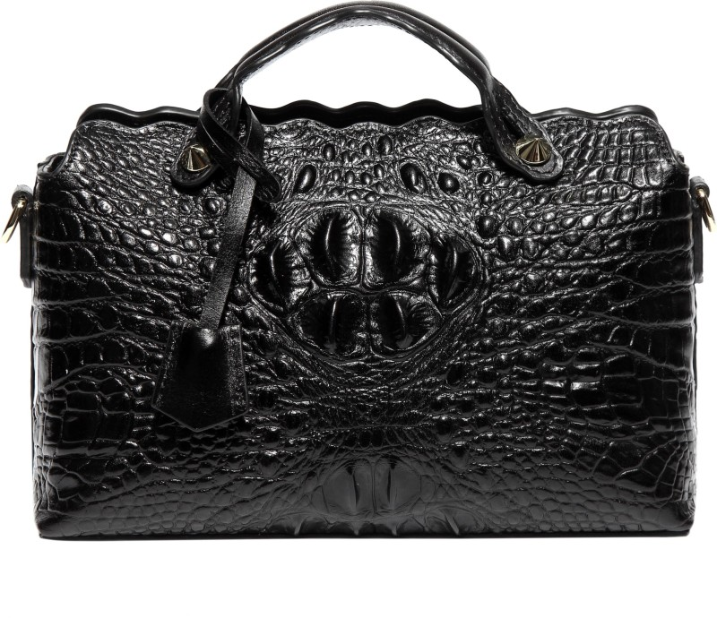 Merlot Women Black Hand-held Bag