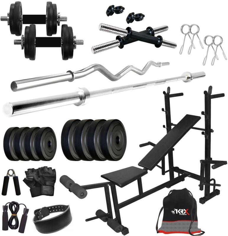 KRX PVC 65KG COMBO 36-SL Home Gym Kit