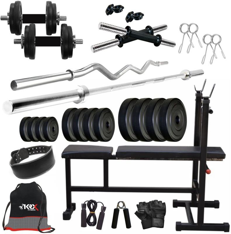 KRX PVC 62KG COMBO 6-SL Home Gym Kit