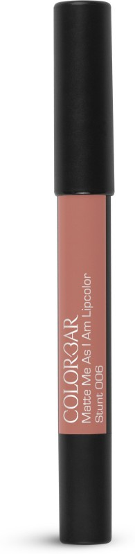 Colorbar Matte me as I am Lipcolor Lipstick(Stunt, 2.8 g)