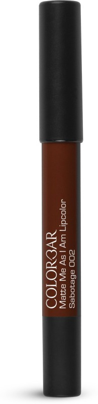 Colorbar Matte me as I am Lipcolor Lipstick(Sabotage, 2.8 g)