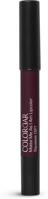 Colorbar Matte me as I am Lipcolor Lipstick(Squeeze, 2.8 g)
