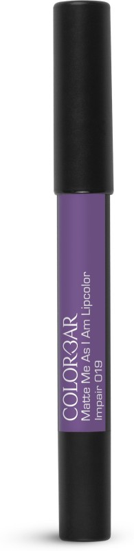 Colorbar Matte me as I am Lipcolor Lipstick(Impair, 2.8 g)