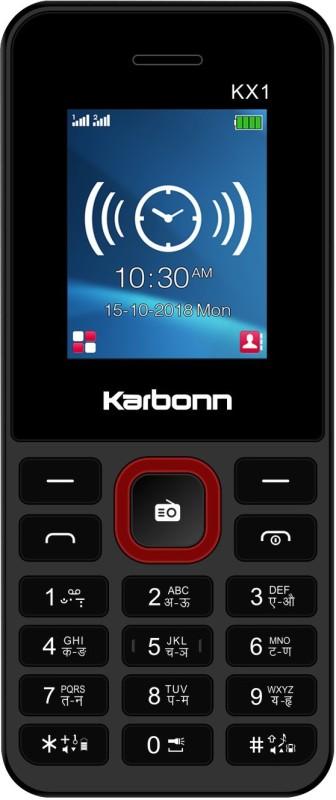 Karbonn KX1(Black&Red)