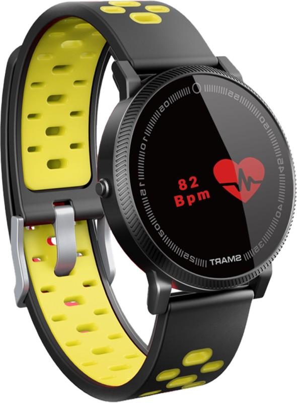 Bingo smart fitness band(Yellow Strap, Size : NORMAL)
