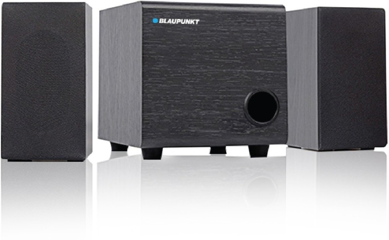 Blaupunkt SP-200 10 W Laptop/Desktop Speaker(Black, 2.1 Channel)