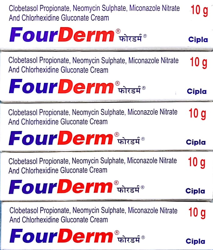 Cipla Fourderm Cream(50 g)