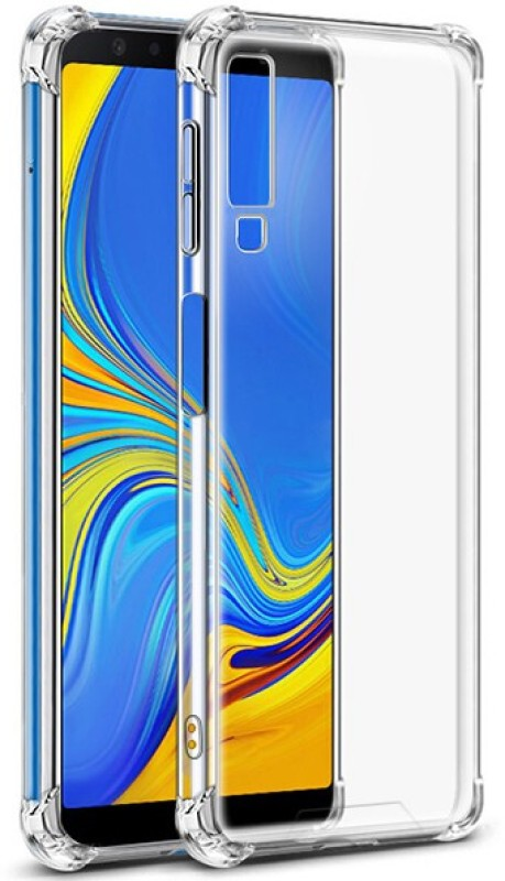 MOBIWIN Back Cover for Samsung Galaxy A7 2018 Edition(Transparent)