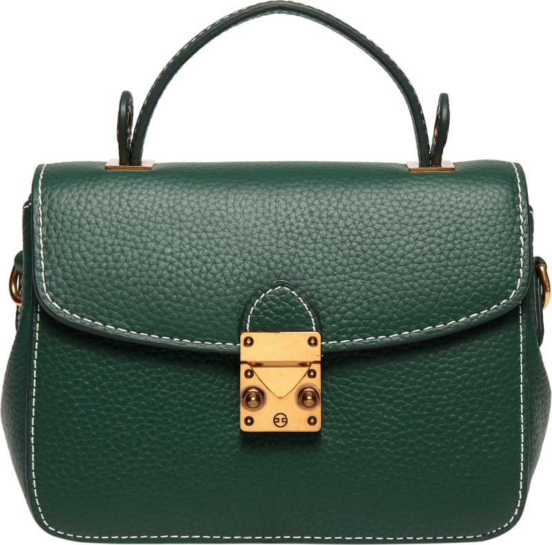Merlot Women Green Hand-held Bag