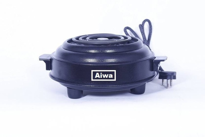 Aiwa World's Best 1200 Watts Stainless Steel With Indicator G -Coil Hot Plate Induction Cooktop(Grey, Push Button)