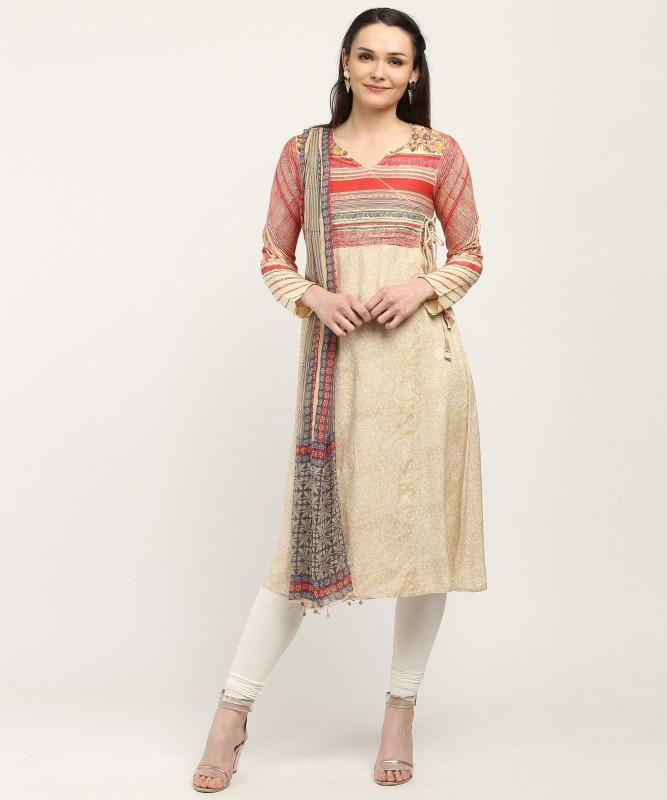Imara Printed Kurta & Leggings(Stitched)