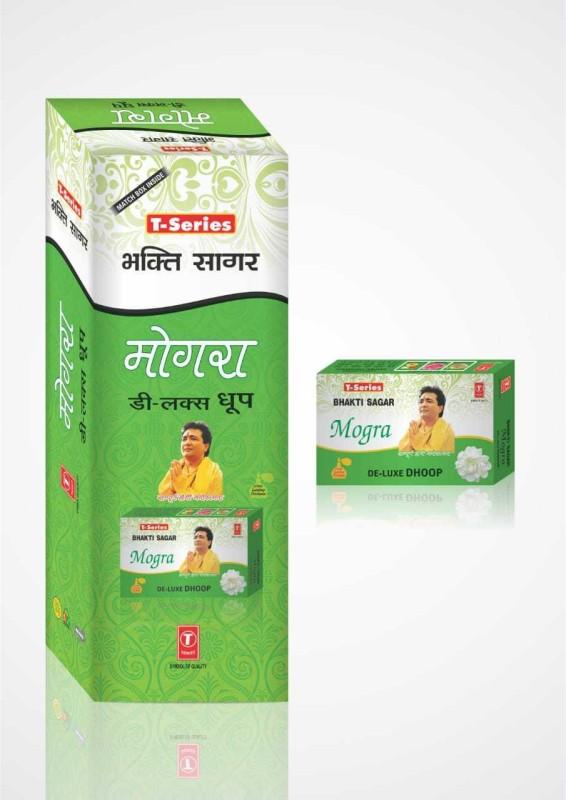 T series Bhakti Sagar De Jasmine Dhoop Cone(Pack of 12)