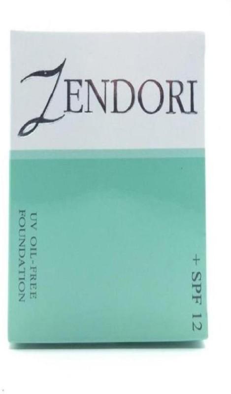 Zendori UV Oil Free Foundation SPF 12 (01) Foundation(01 WHITE, 10 g)