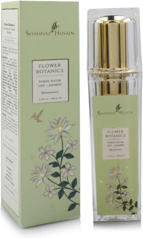 Shahnaz Husain flower Botanics White Water Lily Jasmine Moisturiser(100 ml)