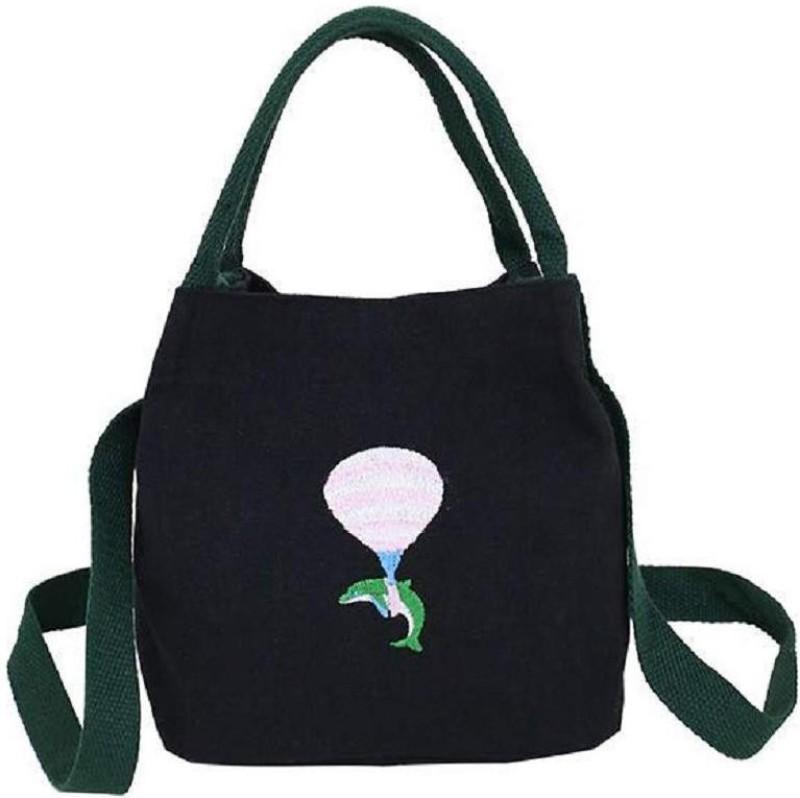 Mei&Ge Black Hand-held Bag
