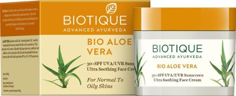 Biotique Bio Aloe Vera Sunscreen - SPF 30 PA+(50 g)